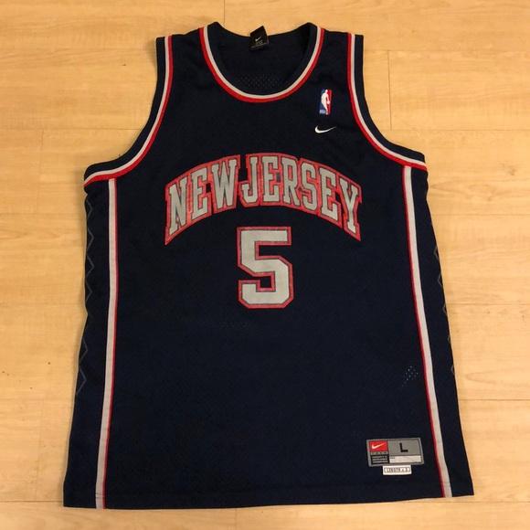 f3e9afe00f4 Nike New Jersey Nets Jason Kidd Jersey Size Large.  M_5c37eaec34a4efa3cb500187